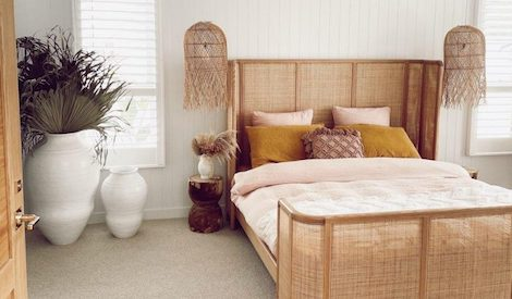 Rattan Bed by Chris Shaw